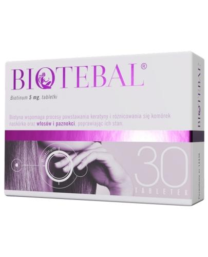 Biotebal 5mg 30 tabletek
