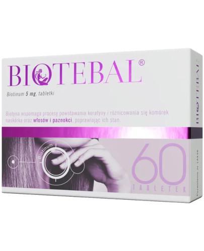 Biotebal 5mg 60 tabletek