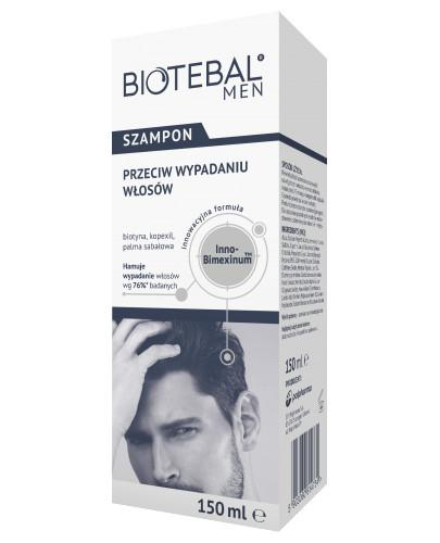 Biotebal Men szampon przeciw wypadaniu włosów 150 ml