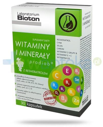 Bioton Witaminy i minerały probiab z resweratrolem 30 kapsułek