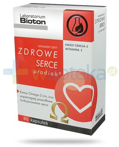 Bioton Zdrowe Serce prodiab 60 kapsułek [Data ważności 31-12-2018]