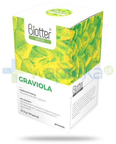 Biotter Green Graviola proszek 37,5 g