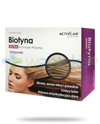 Biotyna Extra ActivLab Pharma 30 kapsułek