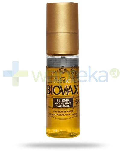 Biovax Argan Makadamia Kokos eliksir wygładzająco nawilżający 50 ml