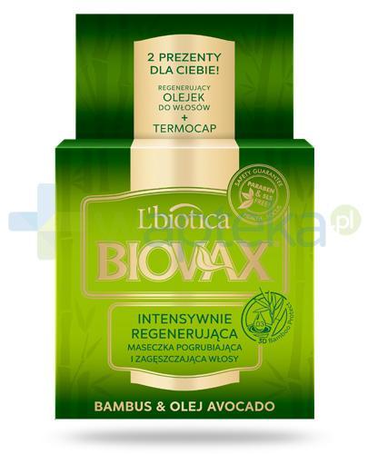 Biovax Bambus & Olej Avocado maseczka intensywnie regenerująca do włosów 500 ml