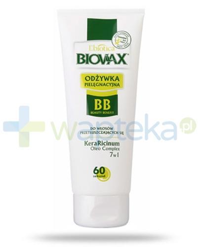 Biovax BB odżywka do włosów przetłuszczających się 200 ml + kosmetyczka [GRATIS]