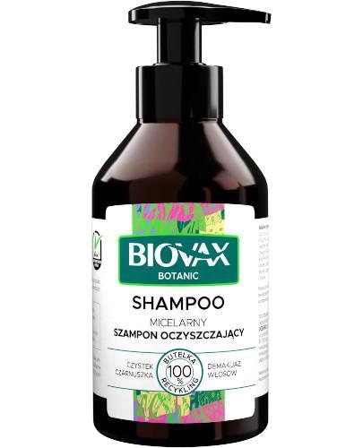 Biovax Botanic micelarny szampon oczyszczający 200 ml
