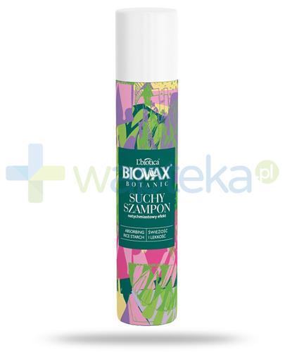 Biovax Botanic suchy szampon do włosów 200 ml