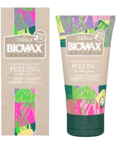 Biovax Botanic trychologiczny peeling do skóry głowy 125 ml