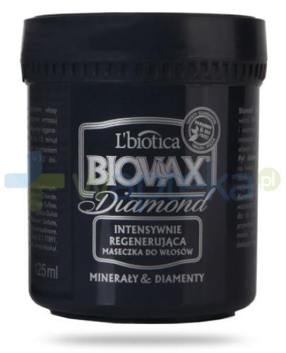 Biovax Diamond maseczka do każdego rodzaju włosów 125 ml + kosmetyczka [GRATIS]