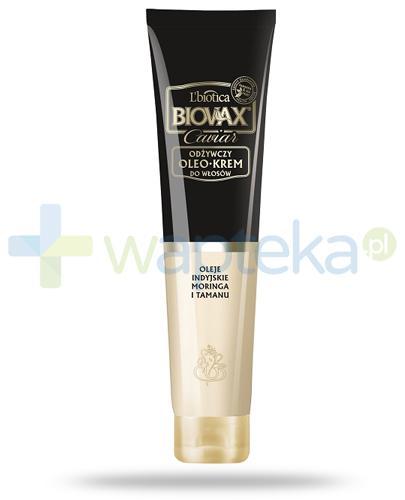 Biovax Glamour Caviar odżywczy oleo-krem do włosów 125 ml