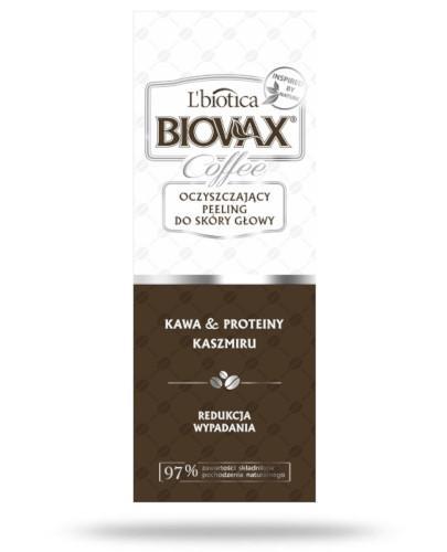 Biovax Glamour COffee oczyszczający peeling do skóry głowy 125 ml