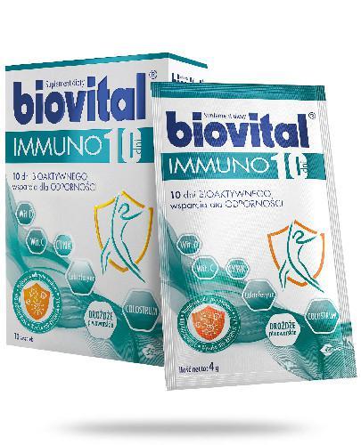 Biovital Immuno 10 dni 10 saszetek