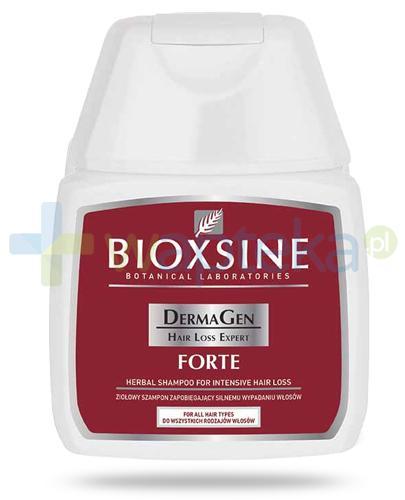 Bioxsine DermaGen Forte ziołowy szampon zapobiegający silnemu wypadaniu włosów 100 ml