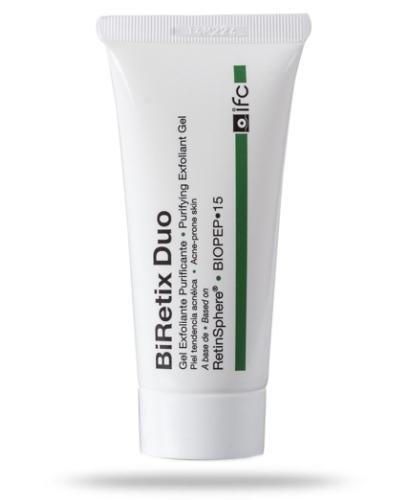 BiRetix Duo żel złuszczająco-oczyszczający z retinoidami eliminujący niedoskonałości skóry trądzikowej 30 ml