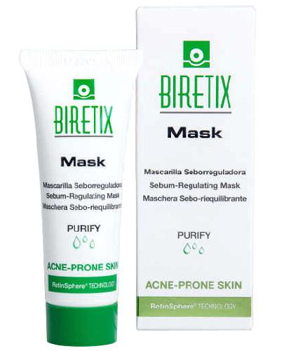 BiRetix Mask maseczka sebo regulująca z retinoidami do skóry trądzikowej 25 ml