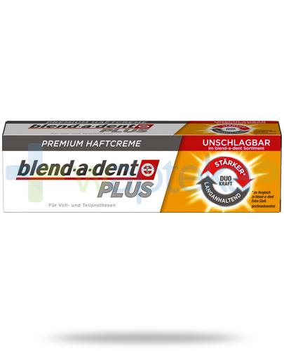 Blend-A-Dent Plus Dual Power krem do protez zębowych 40 g [WYPRZEDAŻ]