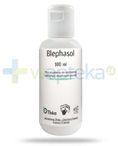Blephasol płyn micelarny do codziennej pielęgnacji wrażliwych powiek 100 ml