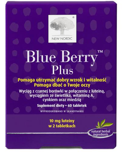 Blue Berry Plus 60 tabletek