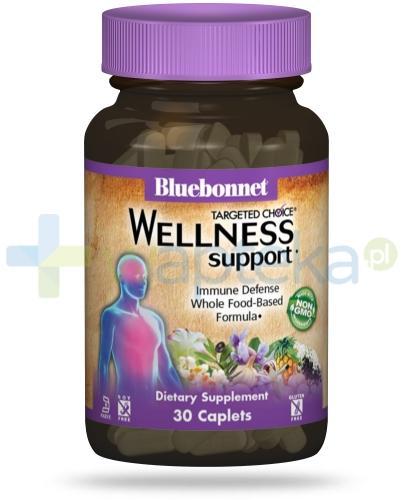 Bluebonnet Nutrition Wellness Support, formuła wspomagająca układ odpornościowy, 30 tabletek