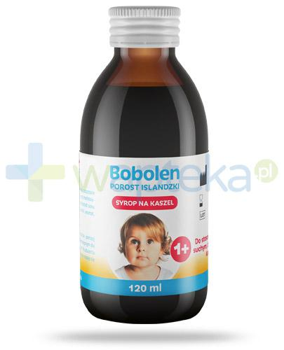 Bobolen porost islandzki syrop na kaszel dla dzieci 1+ 120 ml