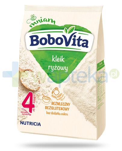 BoboVita bezmleczny kleik ryżowy dla dzieci 4m+ 160 g