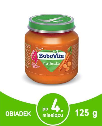 BoboVita obiadek marchewka dla dzieci 4m+ 125 g