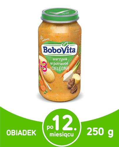 BoboVita warzywa w potrawce z cielęciną 1-3 lata 250 g