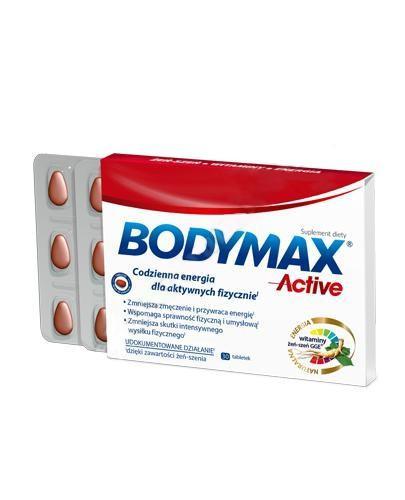 Bodymax Active wyciąg z żeń-szenia GGE + witaminy 30 tabletek