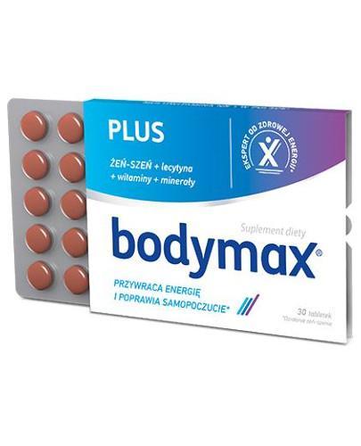 Bodymax Plus wyciąg z żeń-szenia GGE + witaminy 30 tabletek [11718]