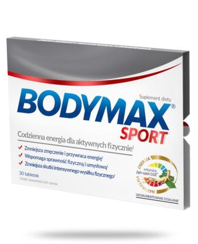 Bodymax Sport wyciąg z żeń-szenia GGE + witaminy 30 tabletek