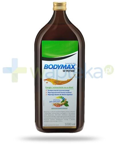 Bodymax wyciąg z żeń-szenia GGE + witaminy w płynie 1000 ml