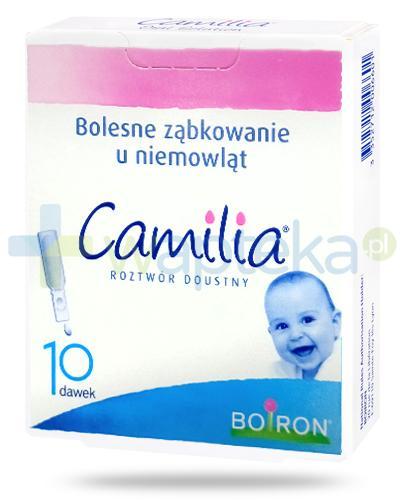 Boiron Camilia roztwór doustny ampułki 10x 1 ml