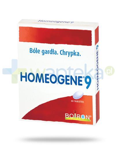 Boiron Homeogene 9 60 tabletek