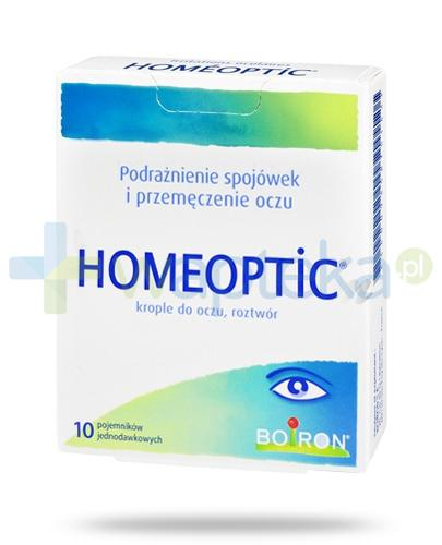Boiron Homeoptic krople do oczu 10x 0,4 ml