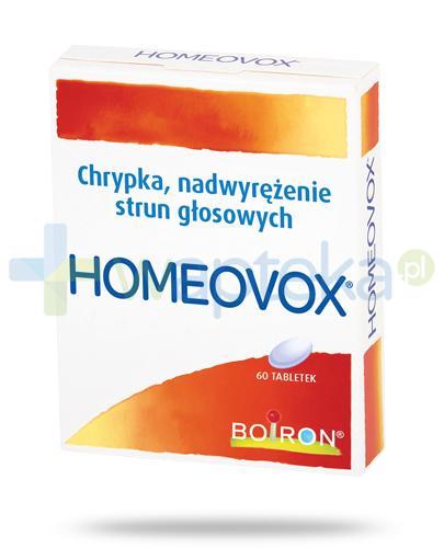 Boiron Homeovox 60 tabletek