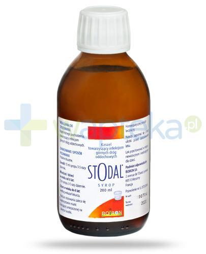 Boiron Stodal syrop na kaszel 200 ml