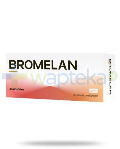 Bromelan 30 tabletek dojelitowych