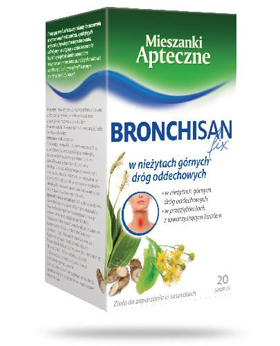 Bronchisan fix 20 saszetek