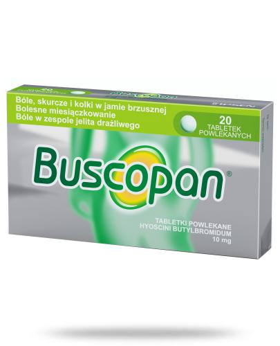 Buscopan 10mg 20 tabletek powlekanych