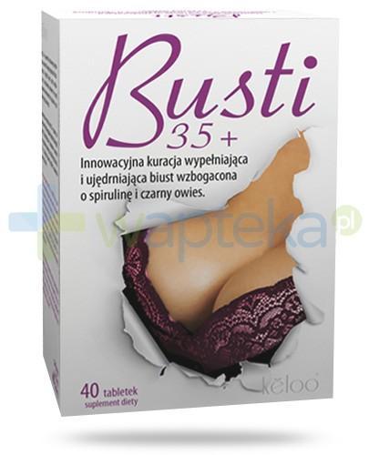 Busti 35+ kuracja intensywnie ujędrniająca biust 40 tabletek