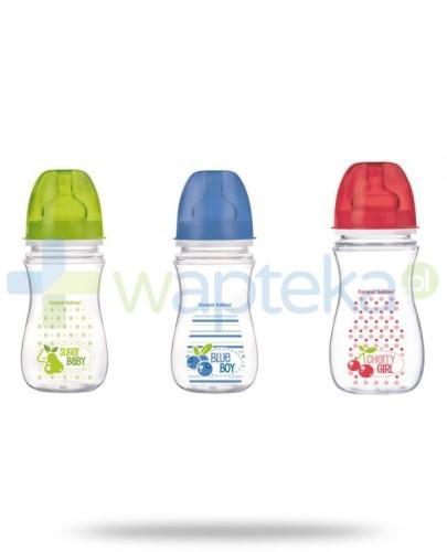Butelka Antykolkowa szerokootworowa CANPOL EasyStart 35/213 Owoce 240 ml