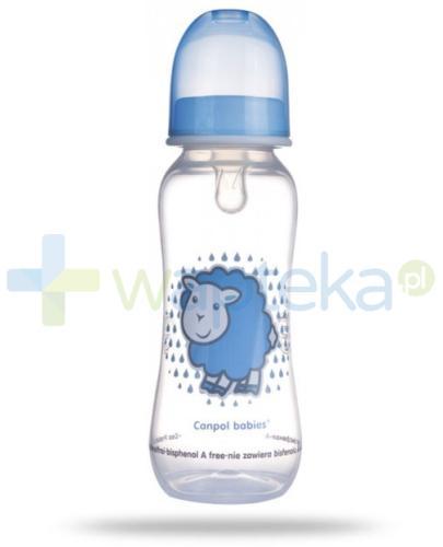 Canpol Babies Butelka profilowana 250 ml [59/200]