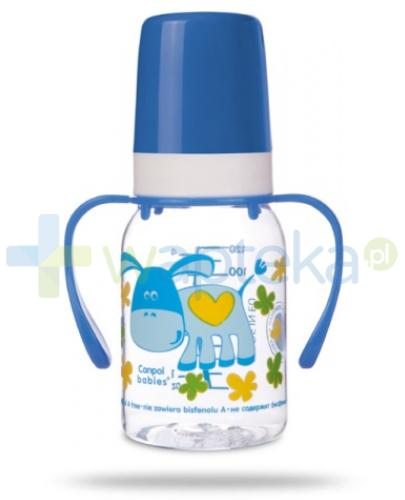 Canpol Butelka niemowlęca + uchwyt 120 ml [11/823]