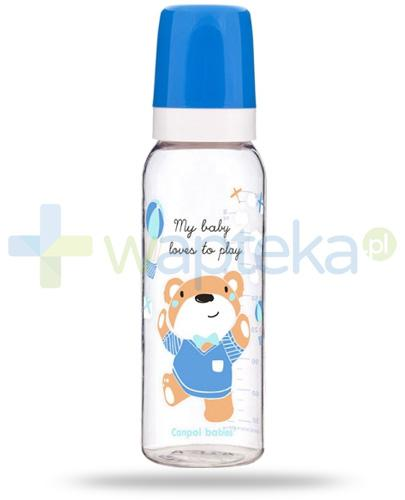 Canpol Babies Sweet fun butelka dekorowana dla dzieci 12m+ 250 ml [11/840]