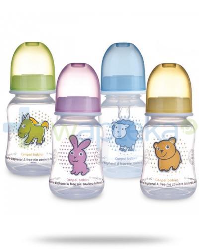 Canpol Babies Butelka profilowana 120 ml [59/100]