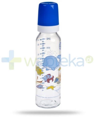 Canpol Babies Butelka szklana z nadrukiem 12m+ 240 ml [42/201]