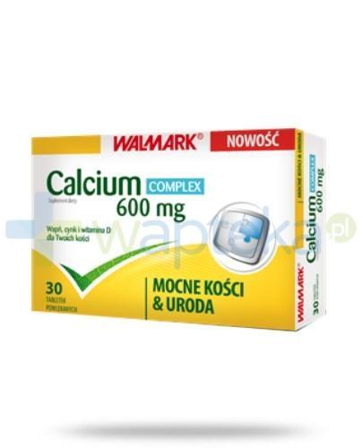 Calcium 600 mg Complex 30 tabletek WALMARK