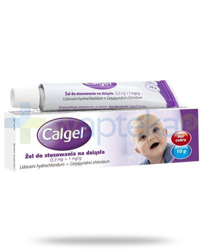 Calgel (3,3 mg + 1 mg )/g żel na dziąsła 10 g