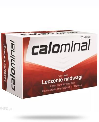 Calominal wspomaga leczenie nadwagi 60 tabletek
